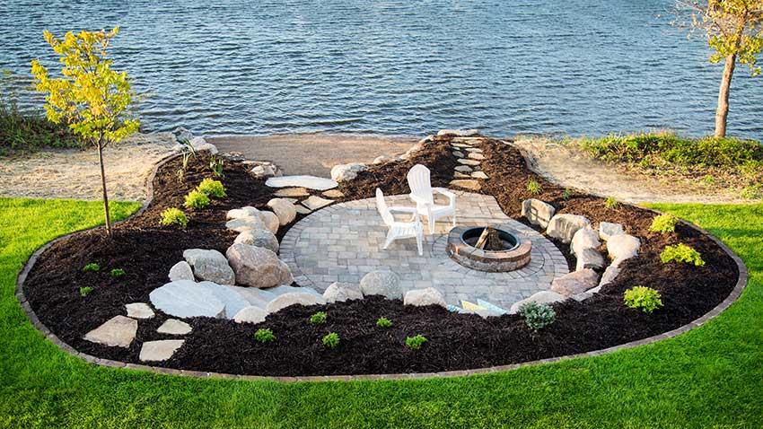 M t carpenter landscape inc mt shore side for Beach house landscape design